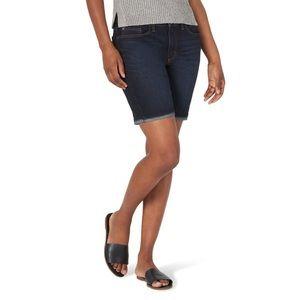Lee Women's Midrise Bermuda Shorts-Adjustable Cuff